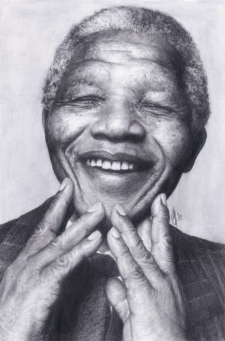 Nelson Mandela par Celia-H